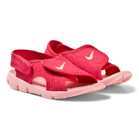 NIKE Sunray Toddler Sandals Tropical Pink 608