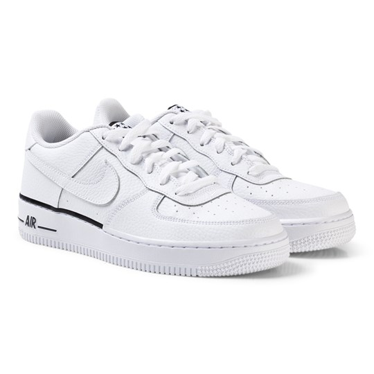Air Force 1 Junior Sneakers VitSvart NIKE Babyshop