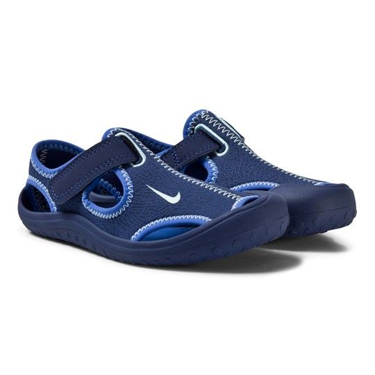 NIKE Sunray Protect Kids Sandals Binary Blue 400