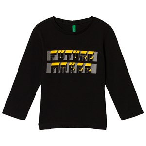Image of United Colors of Benetton Future Maker T-Shirt Black 2Y (18-24 mdr) (2899232975)