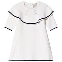 Lillelam Dance Dress Sailor White Hvit