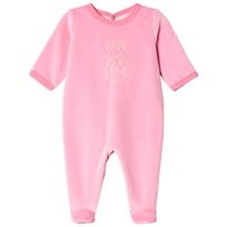 Petit Bateau Footed Baby Body Pink