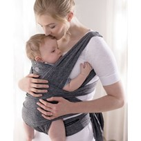Boppy Boppy Comfy Fit Baby Carrier Light Grey