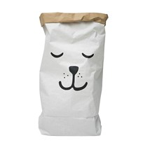 Tellkiddo Sleeping Bear Papperspåse White