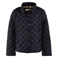 Burberry Куртка Демисезонная Check Lined Diamond Quilted Jacket Navy Navy
