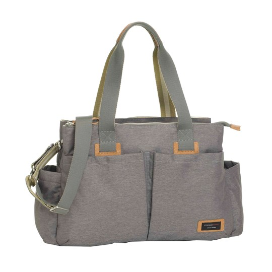 Storksak Shoulder Changing Bag Grey Black