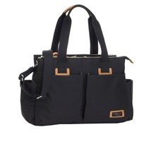 Storksak Shoulder Changing Bag Black Black