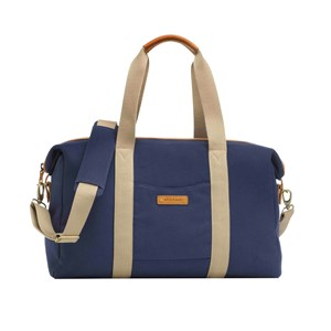 Image of Storksak Bailey Changing Bag Blue Canvas 1010 (3065505189)