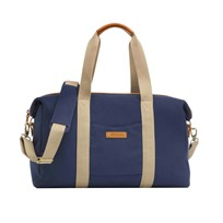 Storksak Bailey Changing Bag Blue Canvas Blue