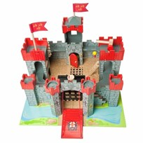 Le Toy Van Lionheart Castle Black