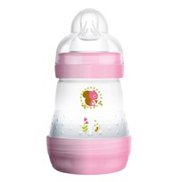 MAM Nappflaska, Easy Start, Anti Colic, 160 ml, Rosa