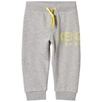 Kenzo Grey and Yellow Logo Sweat Pants 22