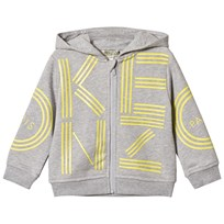 Kenzo Grey Logo Embroidered Sweatshirt 22