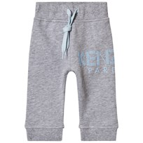 Kenzo Grey and Blue Logo Sweat Pants 22