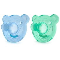 Philips Avent Philips Avent Pacifier Soothie 3 m+ Blå/Turkis 2 pk Blå/Turkis