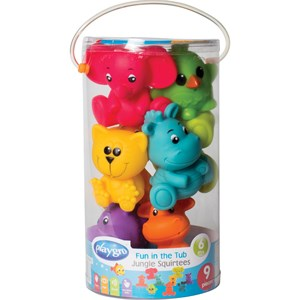 Image of Playgro Fun In The Tub Jungle Squirtees 6 - 24 months (3056116661)