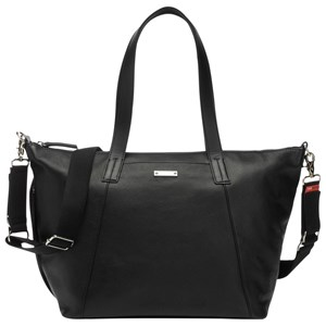 Image of Storksak Noa Leather Changing Bag Black One Size (415940)
