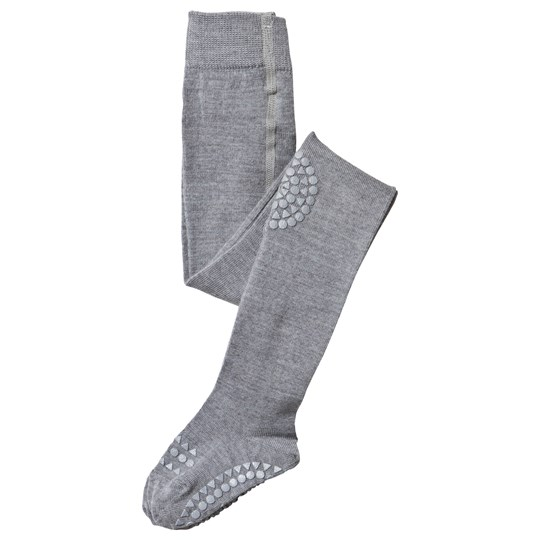 GoBabyGo Tights Wool Grey Melange Grey Melange