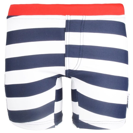 ebbe Kids Fabio Swimpants White/Navy White