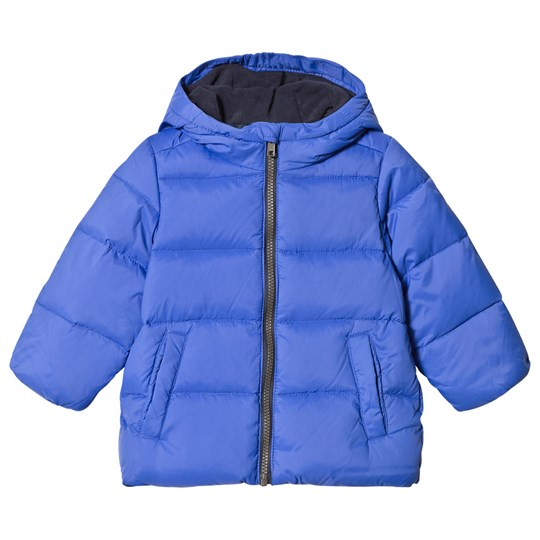 0532dcdf5555 United Colors of Benetton - Down Puffa Jacket With Fleece Lined Hood ...