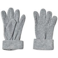 United Colors of Benetton Fleece Gloves Grey Black