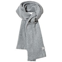 United Colors of Benetton Fleece Scarf Grey Black