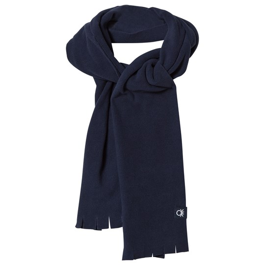 United Colors of Benetton Fleece Scarf Navy Navy