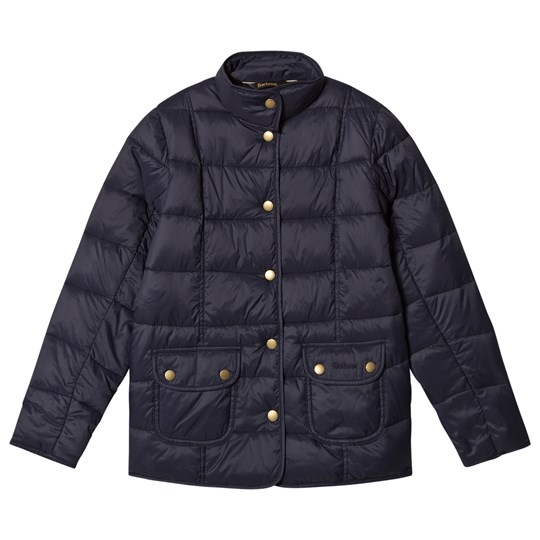 Barbour Navy Moorfoot Quilted Jacket NY71