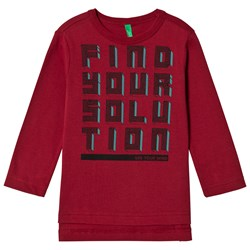 United Colors of Benetton Find Your Solution T-Shirt Red