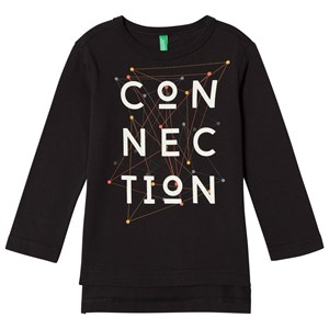 Image of United Colors of Benetton Connection T-Shirt Black XS (4-5 år) (2902969793)