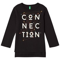 United Colors of Benetton Connection T-Shirt Black Black