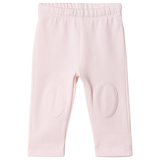 United Colors of Benetton Soft Jersey Sweatpants With Knee Patches Pink Pink