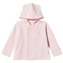 United Colors of Benetton Soft Jersey Hooded Jacket With Bunny Detail Pink Pink