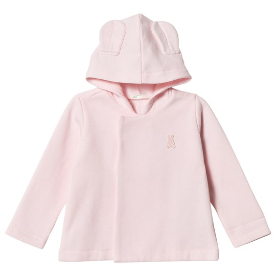 United Colors of Benetton Jersey Hooded Jacka Rosa Pink