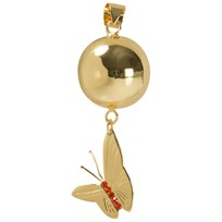 Mom2Mom Gold Butterfly Harmony Ball by Sommerfeld Gold