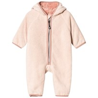 Mini A Ture Adel Fleece Onesie Rose Dust Rose Dust