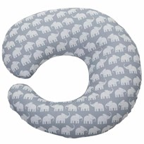 Nursing Pillow Elephant Grey