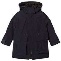 Burberry Clayden 3 in 1 Padded Jacket and Gilet Navy Laivastonsininen