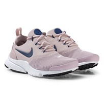 NIKE Pale Pink and Navy White Nike Presto Fly Shoes 602