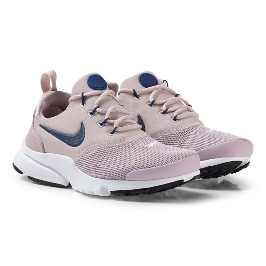 best loved f86d1 b0c10 NIKE Presto Fly Junior Shoe Pale Pink Navy White 602