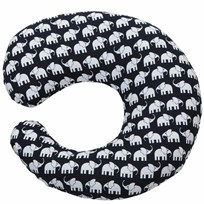 Nursing Pillow Elephant Black