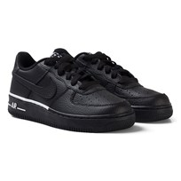 NIKE Black and White Nike Air Force 1 Shoes 036