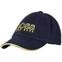 BOSS Navy Branded Baseball Cap 849