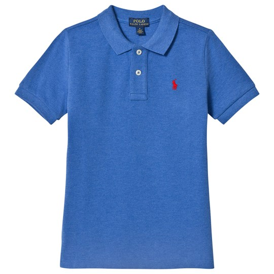 Ralph Lauren Royal Blue Pique Polo with PP 002