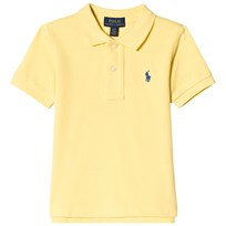 Ralph Lauren Yellow Pique Polo with PP 006