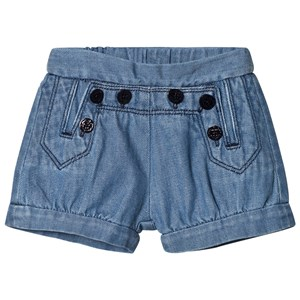 Image of Chloé Blue Sailor Denim Shorts 2 years (2910237037)