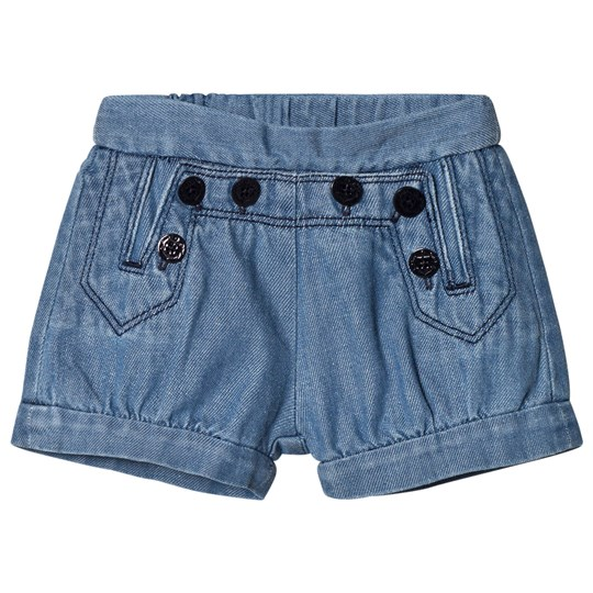 Chloé Blue Sailor Denim Shorts Z10