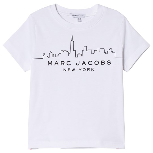 Little Marc Jacobs White Marc Jacobs NY Skyline Tee 10B