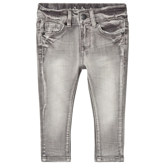 I Dig Denim Bruce Slim Jeans Ljusgrå Light Grey