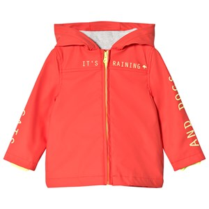 Image of Billybandit Bright Orange Front Zip Hooded Raincoat 10 years (2910236739)
